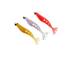 Isca Artificial Big Ones Camarão Soft Evolution 12 cm