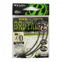 Anzol Ryugi Pierce Hook Brutal TC HPB062 - 3 unidades