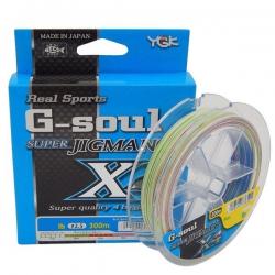 Linha de Multifilamento YGK G-soul Super Jigman X4