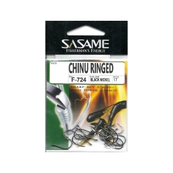 Anzol Sasame Chinu Ringed Black F-724