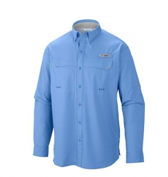 Camisa Columbia Low Drag Offshore Light Blue