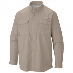 Camisa Columbia PFG Blood and Guts III LS Woven Fossil