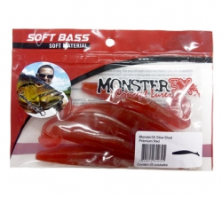 Isca artificial Monster 3X Slow Shad 12cm 5 unidades