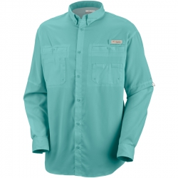 Camisa Columbia PFG Tamiami II ML Verde Moxie