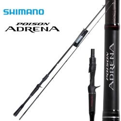 Vara de carretilha Shimano Poison Adrena 6´3´´ 8-16 libras