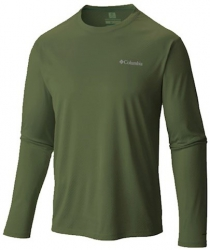 Camiseta M/C Cool Breeze Columbia (Verde Mostone)