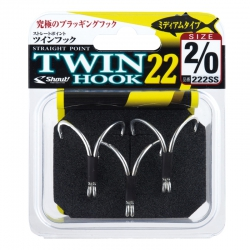 Anzol duplo Shout Twin Hook 22