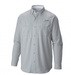 Camisa Columbia Low Drag Offshore Cool Grey