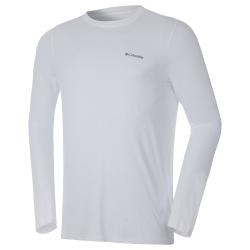 Camiseta Columbia Neblina Branca FPS 50+
