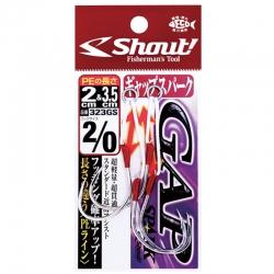 Assist Hook Shout Gap Spark 323GS - 2 unidades