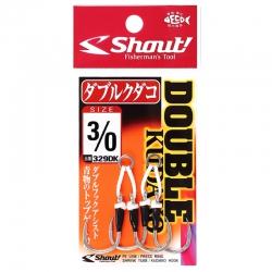 Assist Hook Shout Double Kudako 329DK - 2 unidades