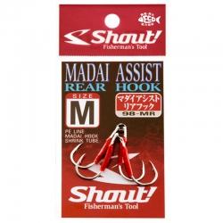Assist Hook Shout Madai 98-MR - 2 unidades