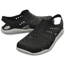 Crocs Swiftwater Wave Black/Pearl White