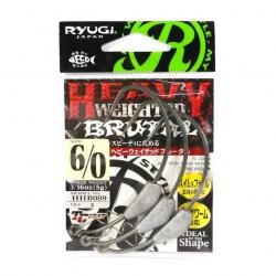 Anzol Lastreado Ryugi Heavy Weight Brutal HHB089 - 3 unidades