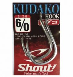 Anzol Shout Kudako Hook - 2 unidades