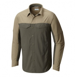 Camisa Columbia Silver Ridge Blocked Sage
