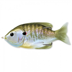 Isca Live Target Hollow Body Sunfish 3/4 oz
